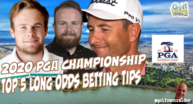 2020 PGA Championship Long Odds Picks from the world's top golf tipster