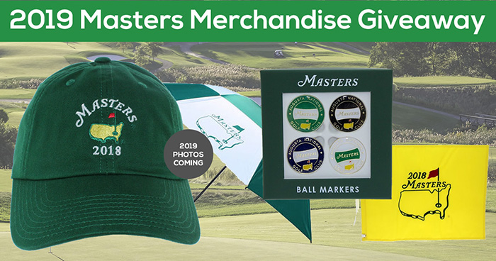 2019 masters golf giveaway prizes