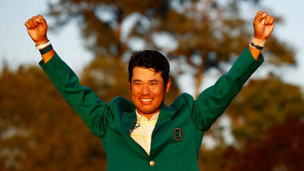 2021 Masters Champion - Hideki Matsuyama